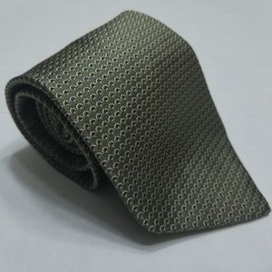 Brooks Brothers neck tie - Green - Polka dot